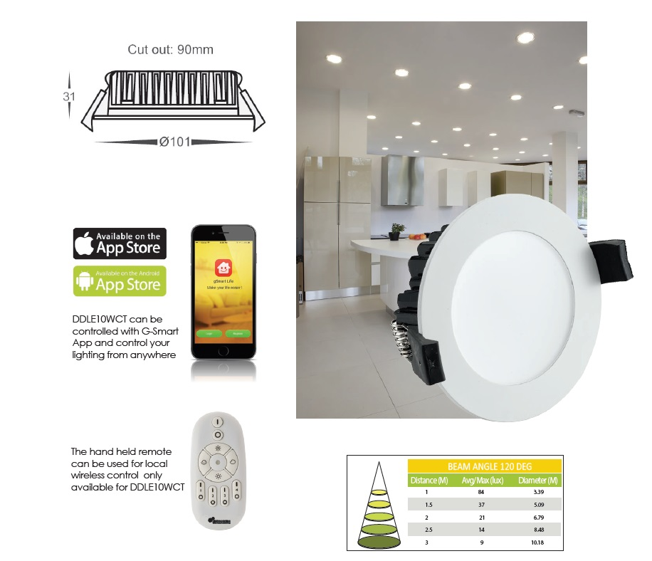 Smart lighting and home automation G-Smart